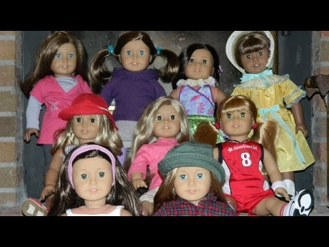 MEET OUR NINE NEW American Girl Dolls!!! WATCH UNTIL THE END!!!