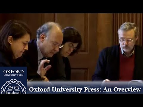 Oxford University Press: An Overview | OUP Academic
