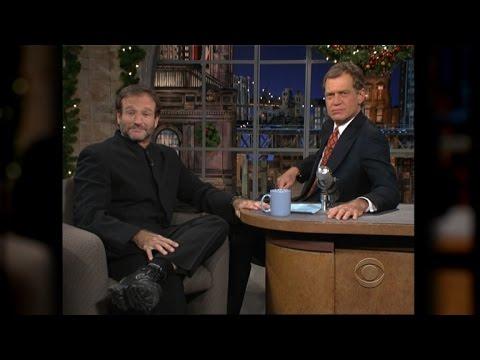 David Letterman Gets Emotional Remembering Robin Williams