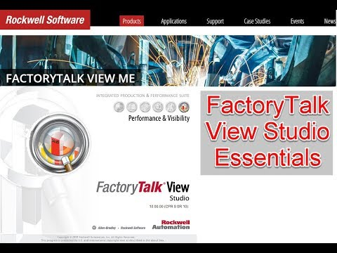 FactoryTalk View Studio - Lesson 02 - Software Tour