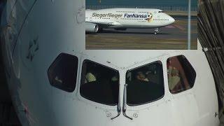 Tokyo haneda airport ATC ANA 787 Lufthansa A340-600 747-8