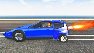 BeamNG Drive - Furious Race Crashes #1