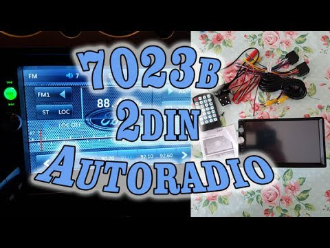 REVIEW 7023b 7inch touchscreen China radio [DUTCH/NL]