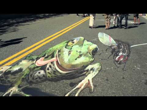 Tracy Lee Stum presents 3D Street Painting – Alex Voikskam Interview
