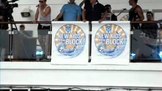 NKOTB Cruise 2011- Sail Away Party- Joe, Jordan, Jon
