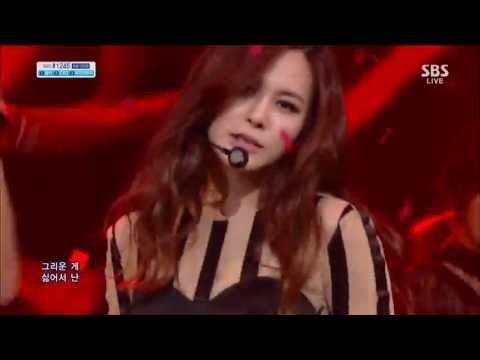 아이비 (IVY) [I Dance (feat 유빈)] @SBS Inkigayo 인기가요 20130617