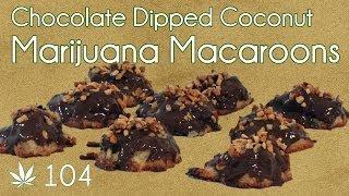 Coconut Macaroon With Cannabis Chocolate Cooking With Marijuana #104 Medicated Macaroons
