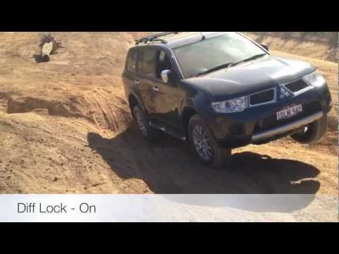 Mitsubishi Challenger - Traction Control vs Diff Lock