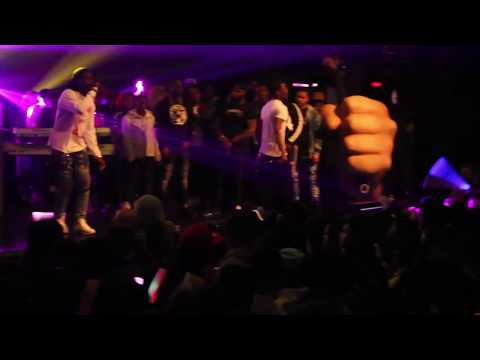 Corey Finesse Performs With Desiigner Outlet Tour NYC at Playstation Theater