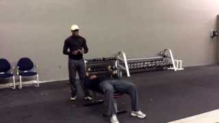 iAmHealthyFit Chest Dumbbell Press Superset