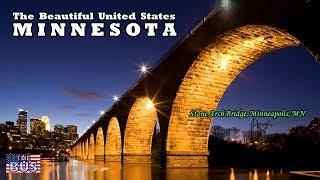 USA Minnesota State Symbols/Beautiful Places/Song HAIL! MINNESOTA w/lyrics