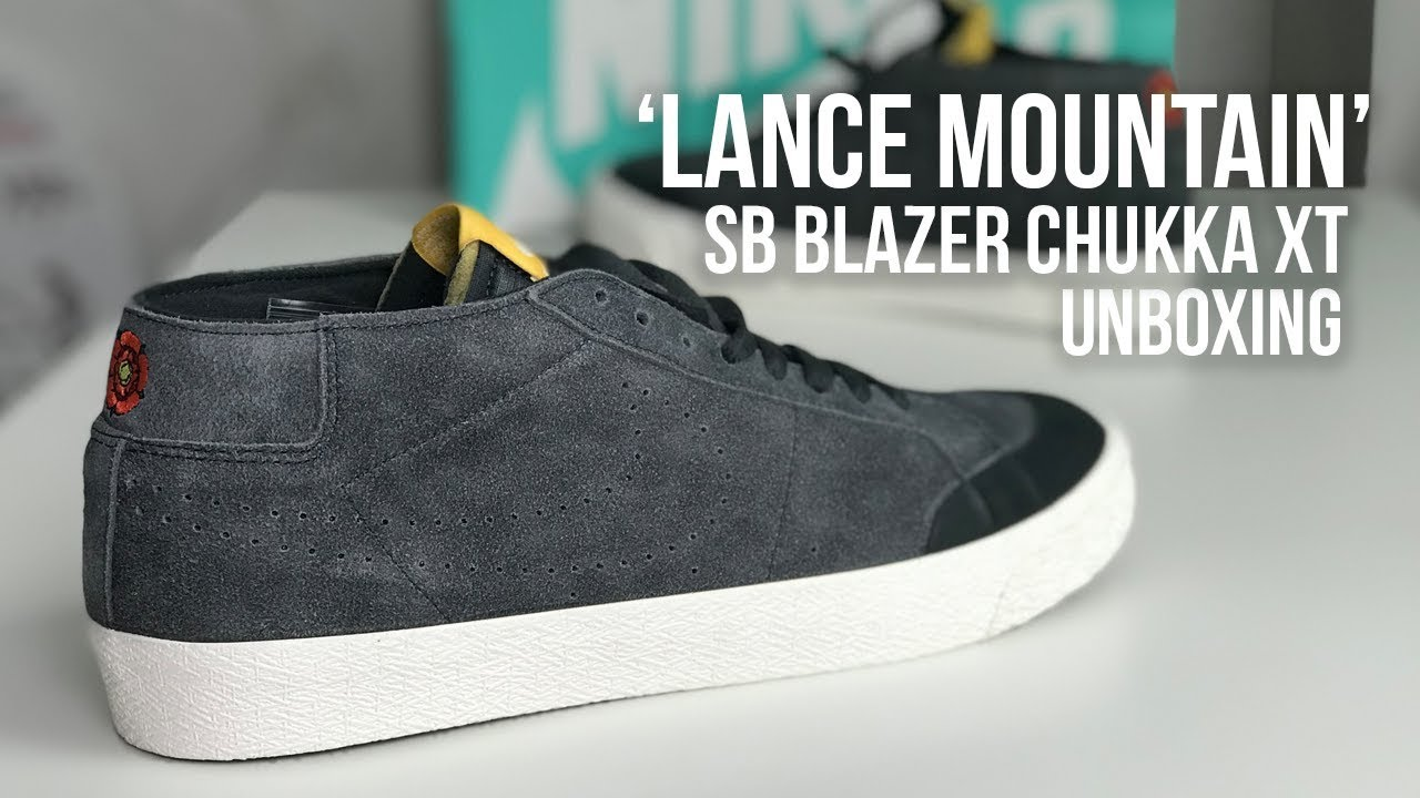 35cb455055fc Nike SB x Lance Mountain Blazer Chukka XT  English Rose  Sneaker ...