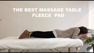 FLEECE MASSAGE TABLE PAD REVIEW WITH NICO FROM DEVLON NORTHWEST