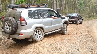 Jeep Grand Cherokee vs Toyota Land Cruiser Prado
