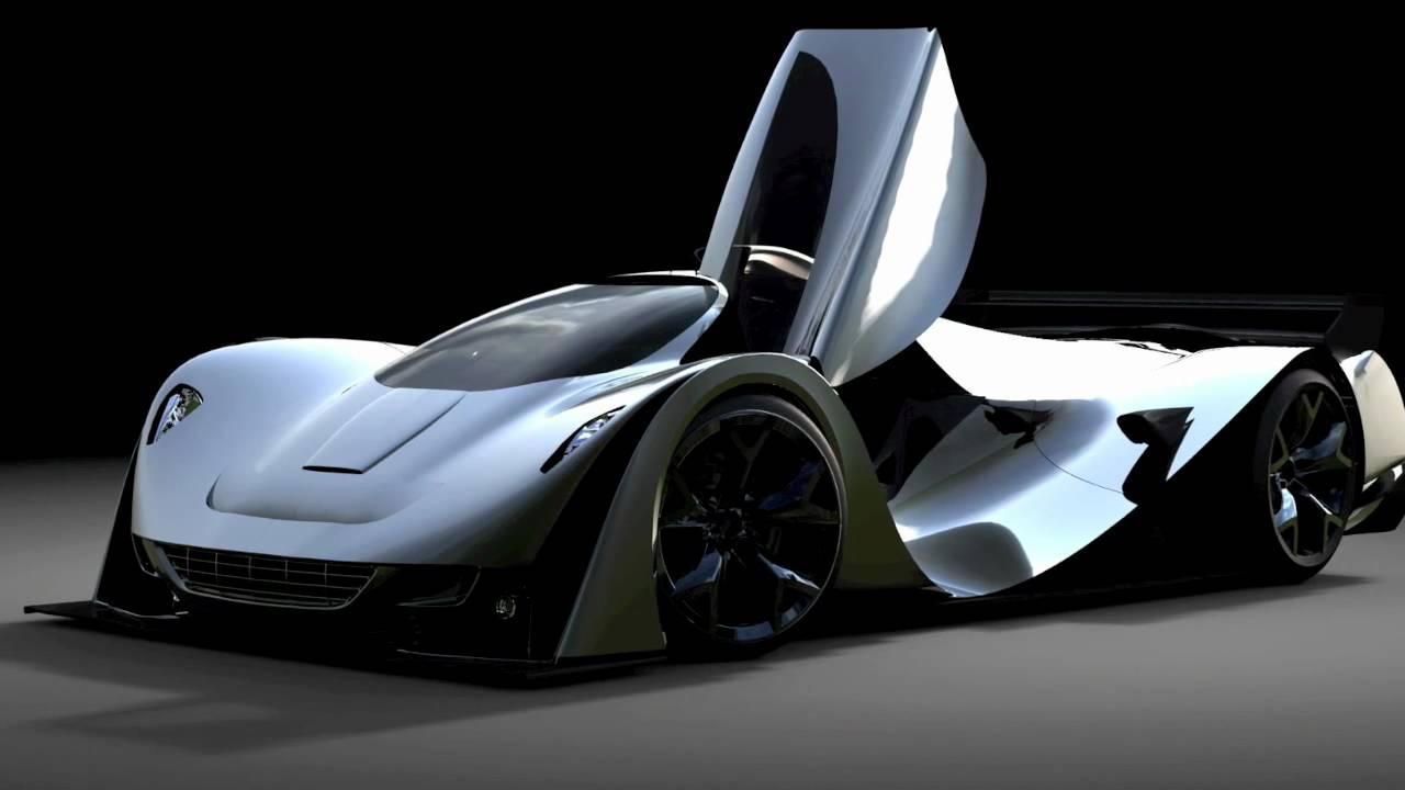 Bunkspeed Ferrari Chinetti Lm Concept By Benoit Fraylon