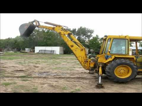 Massey Fergusen 34A backhoe for sale | sold at auction October 17, 2012