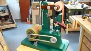 "Woodworking: My Vertical 2x36"" Belt Sander Build In Action. (almost Completed)"