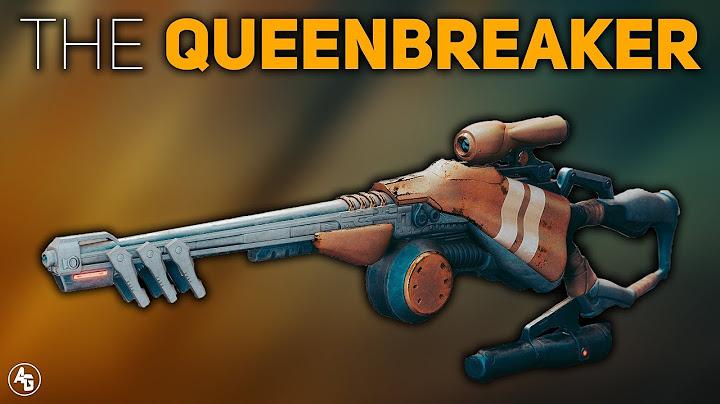 the queenbreaker exotic linear fusion review  destiny 2 forsaken