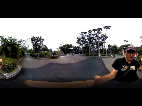 360 Broadcast at Taipei Taiwan's Lush Historic 228 Peace Park