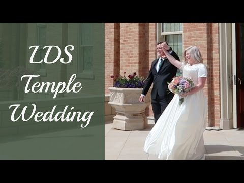 A BEAUTIFUL LDS TEMPLE WEDDING - PROVO CITY CENTER TEMPLE