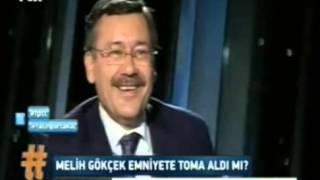 Melih Gökçek'in Sen Devlet Olsan Sorusu Fatih Portakal'ı Kıvrandırdı