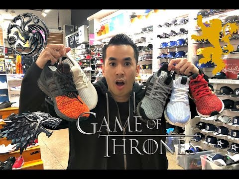 EARLY L👀K GAME OF THRONES ADIDAS ULTRA BOOST | ADIDAS W/ FIRE MARCH 2019