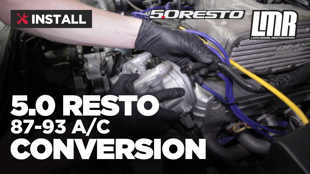 small resolution of how to fox body mustang r12 to r134a a c conversion 1983 1993
