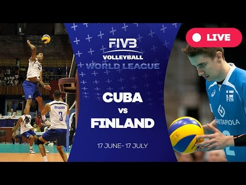 Cuba v Finland - Group 2: 2016 FIVB Volleyball World League
