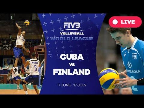 Cuba V Finland - Group 2: 2016 FIVB Volleyball World League