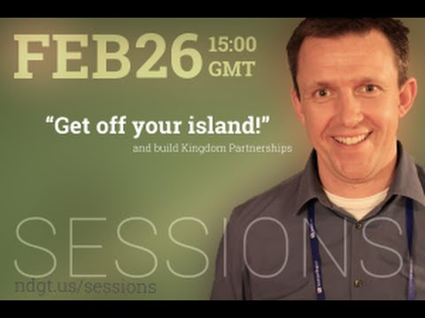 Indigitous SESSIONS: 'Kingdom Partnerships- 'Get Off Your Island''