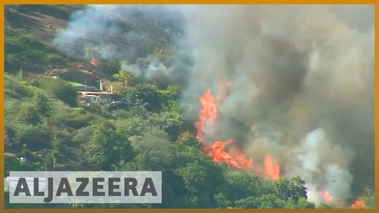 AlJazeera English:'Out-of-control' Canary Islands wildfire rages as 9,000 evacuated