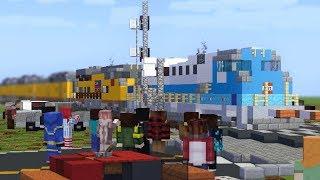 Minecraft UP 4141 H.W. Bush Funeral Train Animation