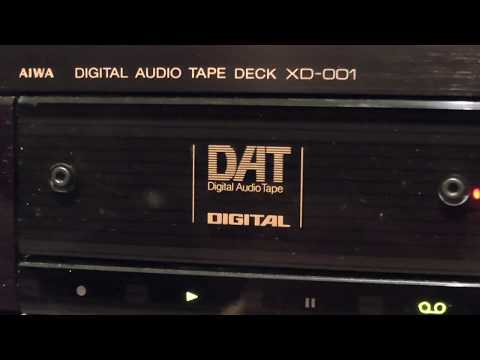 DAT HQ JAMES HORNER, The Perfect Storm, 1989 AIWA Excelia XD001 DAT Recorder, Maxell DAT Tape