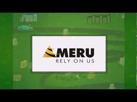 Meru Trip Tracker Service Demo