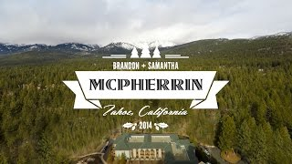 Such Pretty Winter Wedding Details! Brandon&samantha's Lake Tahoe 4k Wedding Film
