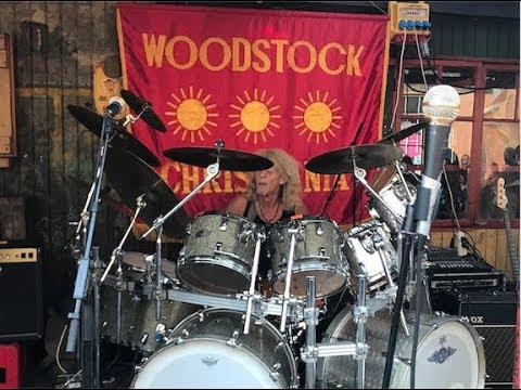 BERLEVs ROCK'N'ROLL HOTEL That's what I love. -på Woodstock Christiania. 2017🥁🎸🎶👏🙌🍺🥃