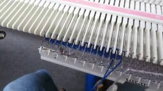 Intarsia on the LK140 Knitting Machine by Carole Wurst