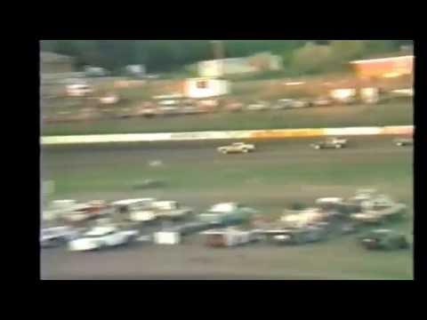 1985 races at Black Hills Speedway #40 Grand National heat race
