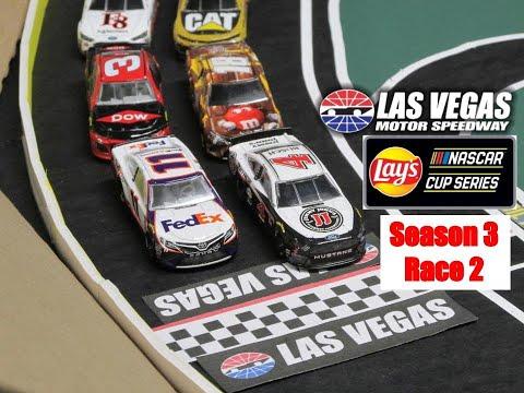 NASCAR Stop Motion LNCS S3 R2: Las Vegas