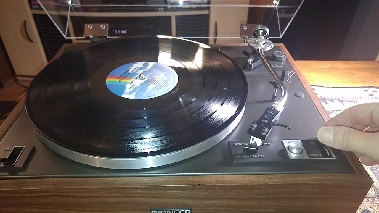 Pioneer Pl 15d II Semi Auto Turntable