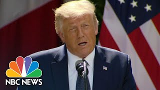 Trump Blasts CDC Guidelines In Push To Reopen Schools | NBC Nightly News