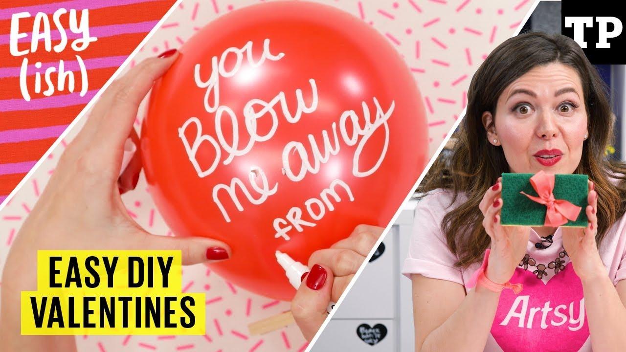 6 easy DIY Valentines for kids (no glue, no glitter, no ...
