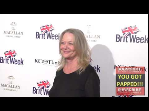 Judy Geeson at the BritWeek's 10th Anniversary   Performance Of Murder, Lust And Madness at Wallis A