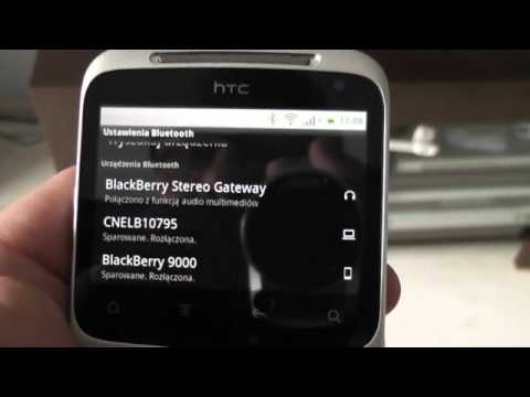 HTC ChaCha + bluetooth audio gateway
