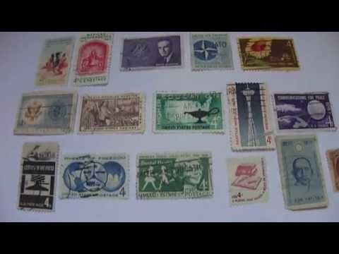 Very Unique 4 Cent Postal Stamps