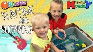 Orbeez, Candy & Guitar Shopping || Mommy Monday