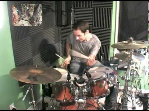 """Chordal Drumming"" drum solo - Max Oepen"