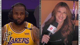 LeBron James Talks Game-Winner, Postgame Interview - Lakers vs Warriors | May 19, 2021