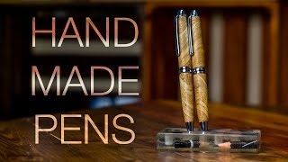 Crazy Grain Turned Wooden Pens