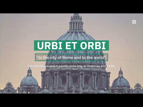 Pope Francis Special Urbi et Orbi Blessing